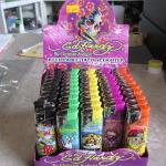 Brand new Ed Hardy tattoo lighters-Retail display box of 50 per lot