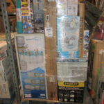 -Huge wally world stack pallets-6-7 1/2 ft tall-Super clean merchandise-