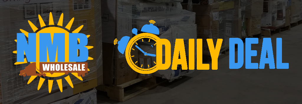Daily deal on wholesale pallets.
